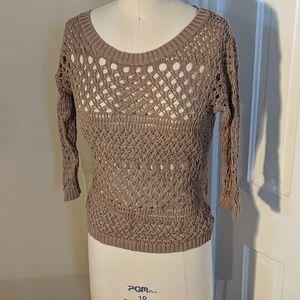 Old Navy crochet sweater